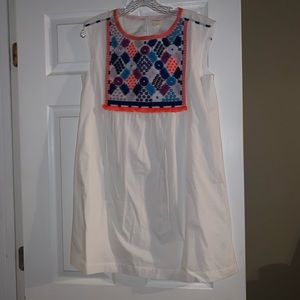 NWOT Crewcuts embroidered detail dress girls 16